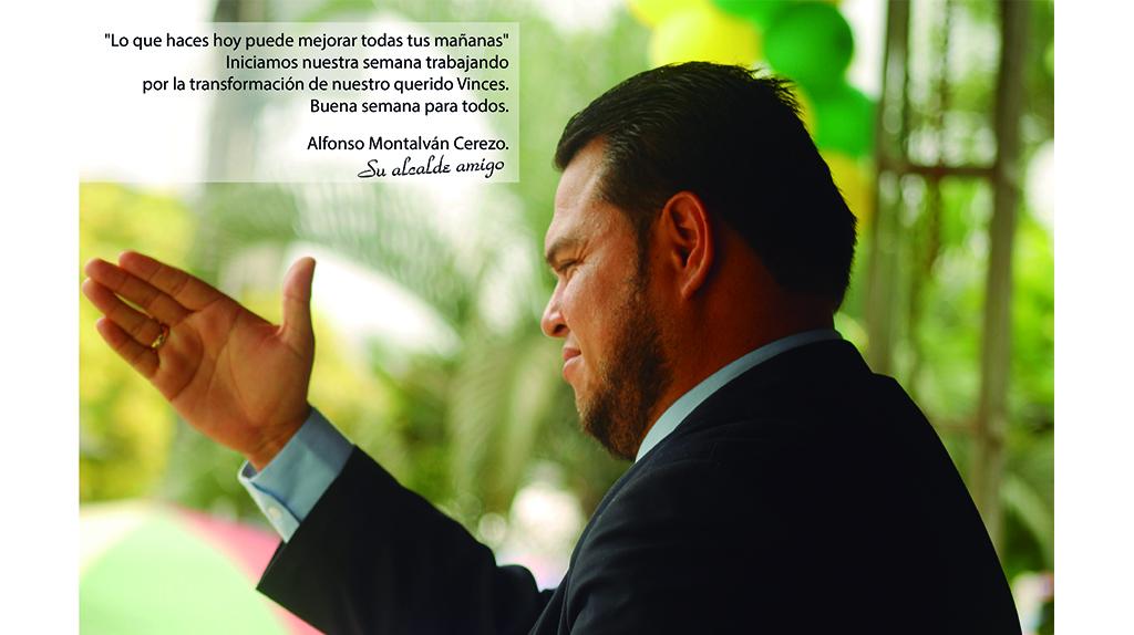 Mensaje del Alcalde Alfonso Montalván