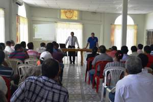 EN VINCES SE SOCIALIZA PLAN DE MOVILIDAD
